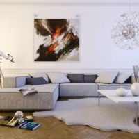 интерьер гостиной в стиле минимализм фото 55