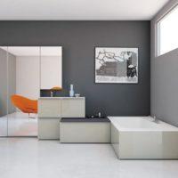 интерьер гостиной в стиле минимализм фото 6