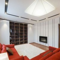 интерьер гостиной в стиле минимализм фото 9