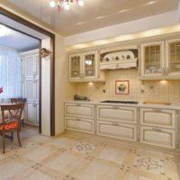интерьер кухни с балконом фото 10