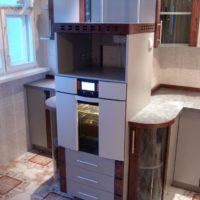 интерьер кухни с балконом фото 41