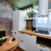 интерьер кухни с балконом фото 46