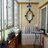 интерьер кухни с балконом фото 52