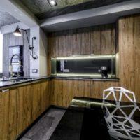 интерьер кухни с балконом фото 60