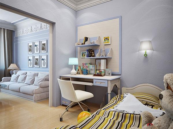 спальня и детская в одной комнате фото 13