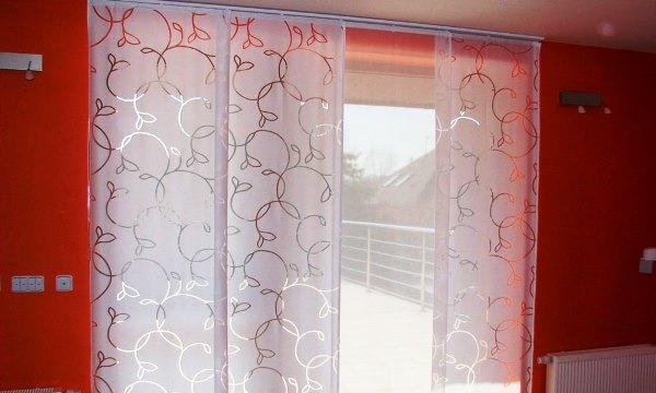 Японские шторы фото своими руками