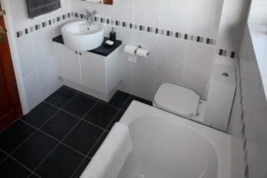 черно-белая ванная фото 5