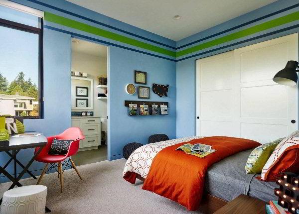 детская комната для мальчика фото 10