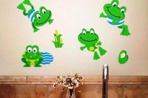 детские наклейки для ванной