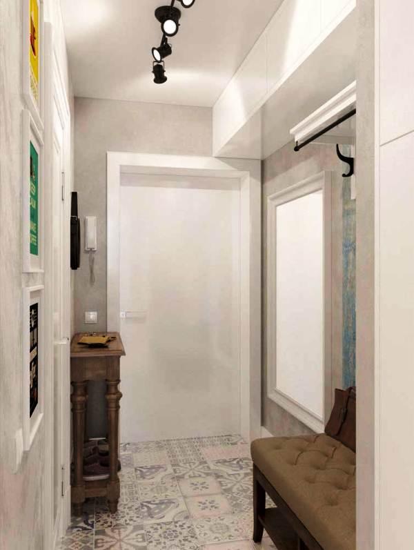 дизайн-проект студии 25 кв. м фото 11