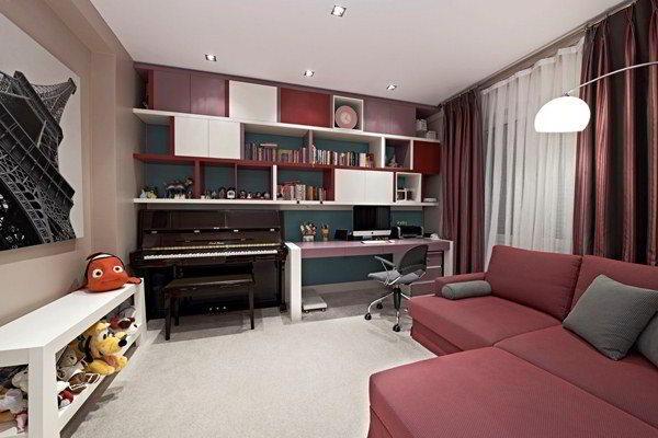 дизайн комнаты для подростка фото 21