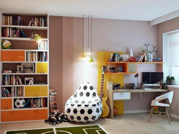 дизайн комнаты для подростка фото 5