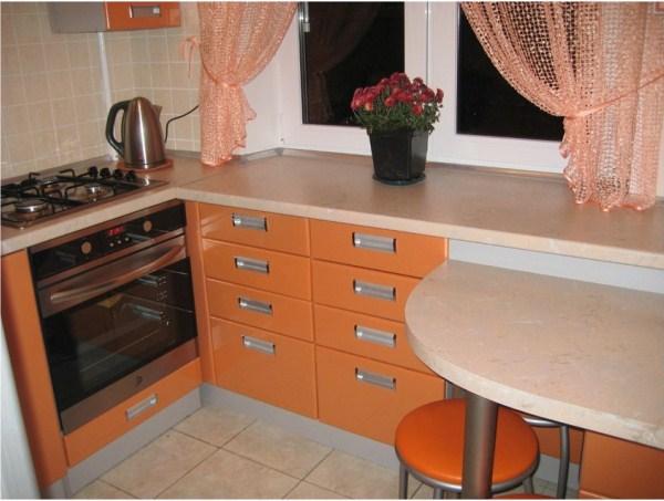маленькая кухня в хрущевке фото 10