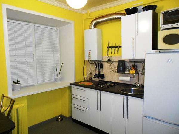 маленькая кухня в хрущевке фото 14