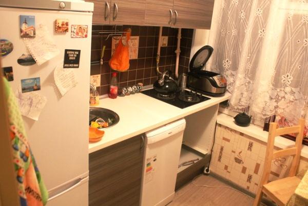 маленькая кухня в хрущевке фото 8