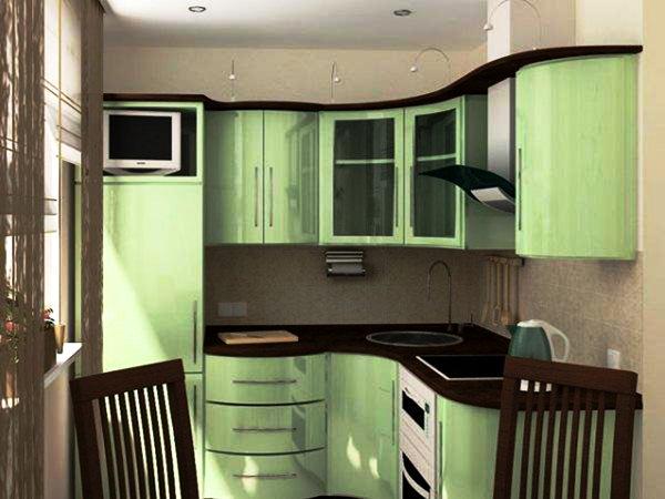 дизайн маленькой кухни 5 кв. м фото 10