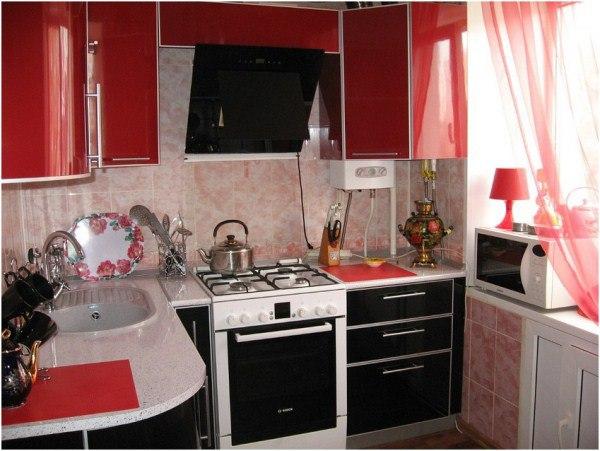 дизайн маленькой кухни 5 кв. м фото 11