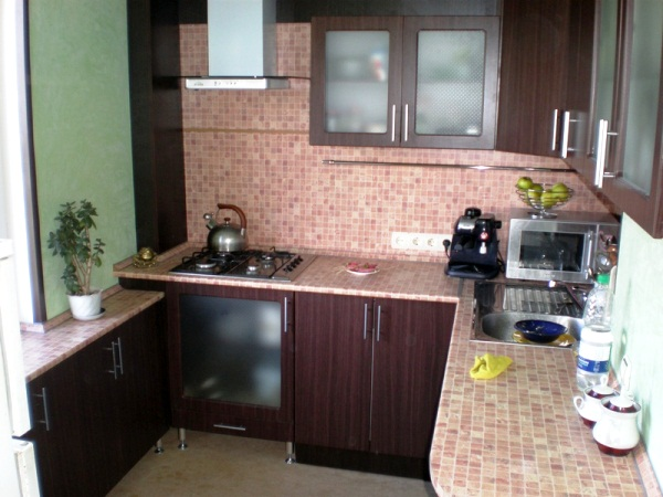 дизайн маленькой кухни 5 кв. м фото 4