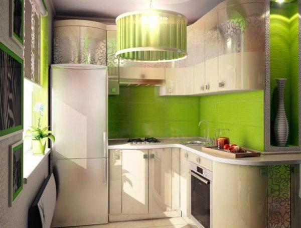дизайн маленькой кухни 5 кв. м фото 7