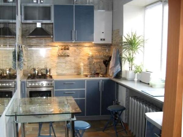 дизайн маленькой кухни 5 кв. м фото 8