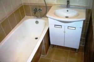 малогабаритная ванная фото 42