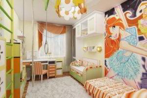 дизайн подростковой комнаты фото 28