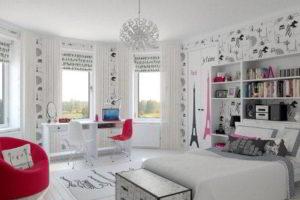 дизайн подростковой комнаты фото 46