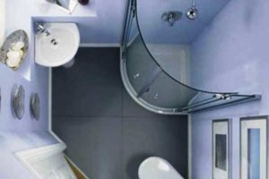 ванная с туалетом 3 кв. м фото 15