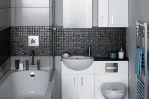 ванная с туалетом 3 кв. м фото 20