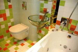 ванная с туалетом 3 кв. м фото 33