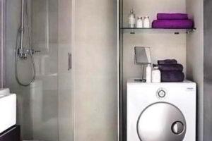 ванная с туалетом 3 кв. м фото 36