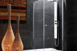 душевая кабина в ванной фото 11