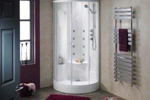душевая кабина в ванной фото 15