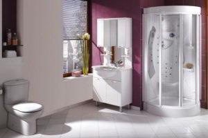 душевая кабина в ванной фото 16