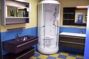 душевая кабина в ванной фото 17
