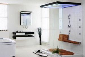 душевая кабина в ванной фото 18