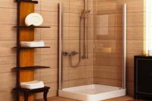 душевая кабина в ванной фото 22