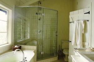 душевая кабина в ванной фото 29