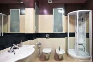 душевая кабина в ванной фото 35