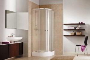 душевая кабина в ванной фото 40