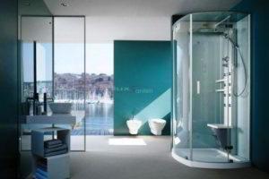 душевая кабина в ванной фото 43