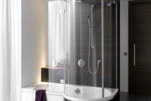 душевая кабина в ванной фото 54