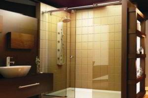 душевая кабина в ванной фото 60