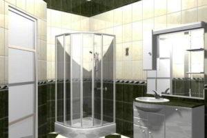душевая кабина в ванной фото 8