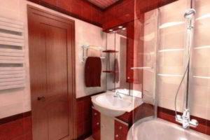 дизайн ванной в хрущевке фото 18