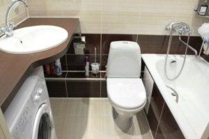 дизайн ванной в хрущевке фото 19