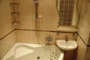 дизайн ванной в хрущевке фото 22