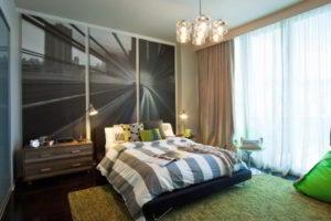 фотообои в интерьере спальни фото 50