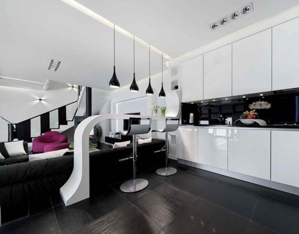 гостиная совмещенная с кухней дизайн фото 3