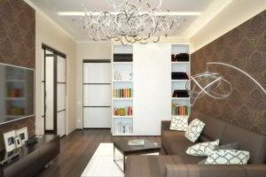 интерьер зала в квартире фото 18